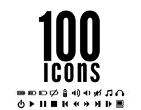 100 Icons -Pack