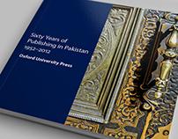 60 Years of Publishing in Pakistan 1952-2012