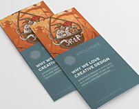 Creative 3-fold Brochure InDesign Template