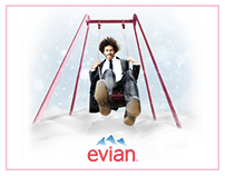 EVIAN - Live Young Campaign