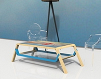 Table P1 | Printed Glass Top