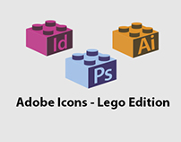 Adobe Icons - Lego Edition