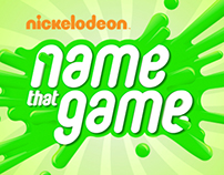 Nickelodeon - Name That Game
