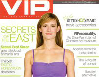 Editorial Work for VIP of Southeast Texas 2010