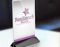 Resilience Media Logo Design