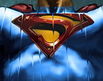 Digital Painting: Superman