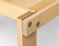 COPENHAGEN, coffee table by Poulsen & Ploug