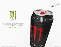 Monster Energy Drink Composite Limited Edition Can 2013