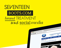 SEVENTEEN / boots.com brand treatment