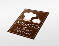 Apunto Gourmet & Catering Identity and Web