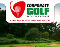 Corporate Golf Website