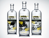 Absolut Vodka visualizations (3D)