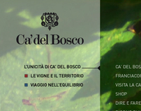 Ca' del Bosco website