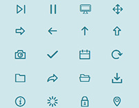 Free Vector Icon Font