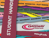 Gateway Technical Collage student handbook cover design