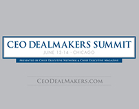 CEO Dealmaker Summit Bound-in Advertisment