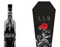 Wine Package Design- Vino De Los Muertos