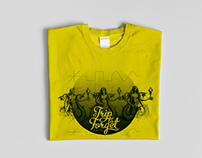 T-Shirt Design - Sirens Waves