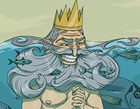 Neptune of the sea