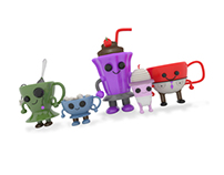 Drink Me: Blind Box Collectible Vinyl Toys