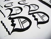 Experimentación con caligrafia