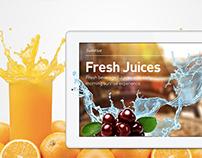 Cafe App design