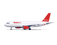 Timelines Charter airlines identity