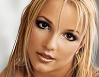 Britney Spears - Digital Painting