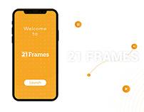 21Frames Mobile App