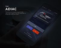 Adiac App Design