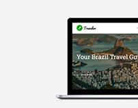 Traveler WordPress Theme - Blog WordPress Theme MacBook