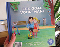 Een goal voor Imane, my second children's book