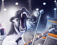 Motörhead Concept Artwork for Casino Heroes