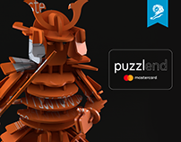 Puzzlend MasterCard / Young lions Desing 2017