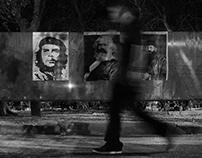 STELLA MELIGOUNAKI - B/W - KIOSK OF DEMOCRACY