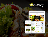 Spiced Blog - Recipes & Food Personal Blog