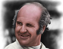Denny Hulme - Digital Painting