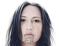 Moko - Digital Painting