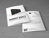 Bifold Brochure For Product Display