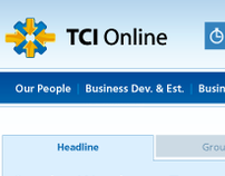 TCI Online - Intranet Under-web Application