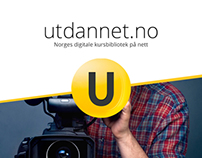 Utdannet - Web development and design