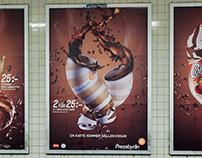 "Pressbyrån ""Coffee campaign"" (CGI/Retouch)"