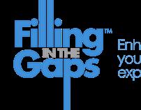 Filling in the Gaps Blog logo design