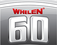 Whelen 60th Anniversary Logo