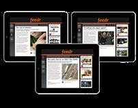 Feeder News Aggregator for iPad