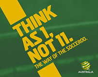 Socceroos Rebrand
