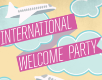 International Welcome Party Poster