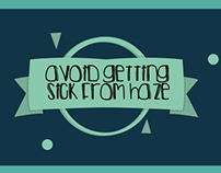 How to avoid getting sick from Haze?