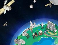 A tecnologia espacial em nosso dia a dia