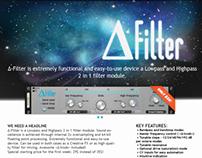 D-Filter - Reason 6 Rack Extension